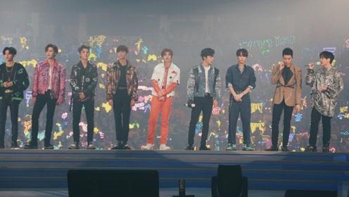 NINEPERCENT解散演唱会开场 九人发表毕业感想