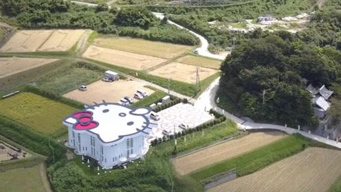 日本斥巨资,把农村打造成hello kitty村庄,看完让人不淡定