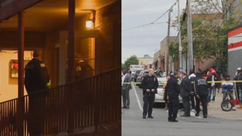 两起枪击案致共8人死亡!实拍:美国芝加哥与纽约同日发生枪击案