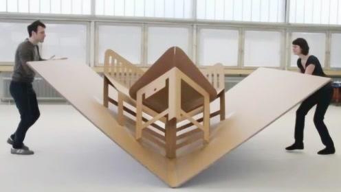 小户型只能蜗居?家具只能将就?3款会变形的家具,漂亮又实用