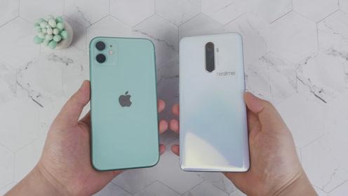 RealmeX2P速度对比iPhone11,这差距没眼看了!