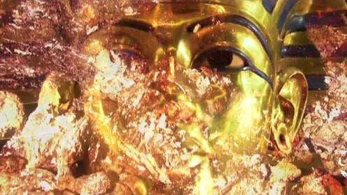 内蒙古惊现奢华辽代古墓!神秘黄金面具揭开墓主人身份之谜