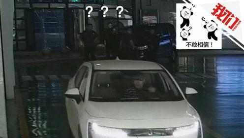 男子非法营运被查 接下来的举动执法人员看呆了
