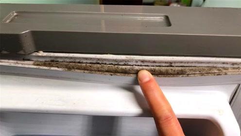 冰箱发霉怎么办?只需简单一步立马变干净,不变形不伤胶条,厉害