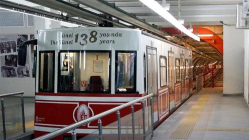 世界上最短的地铁,全程只有600米,屁股还没坐热就到站!