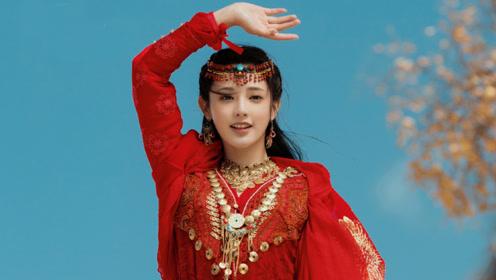 彭小苒《东宫》饰演小枫,红衣造型简直太美了