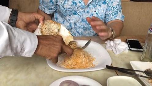 印度的大米像虫子一样旅行印度风情