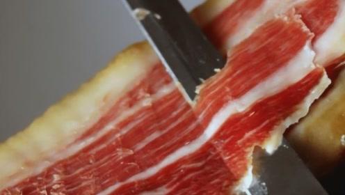 世界上最贵最美味火腿,一根售价3万元,做一根火腿需要用时10年