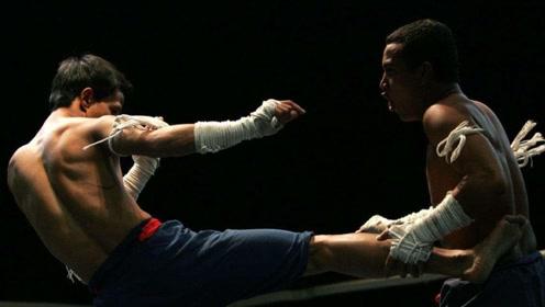 狠招连连的泰拳麻绳战,对手是真的招架不住!