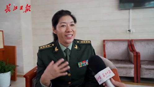 军事体育训练中心副主任王恋英:惦记武汉的美食,最喜欢豆皮
