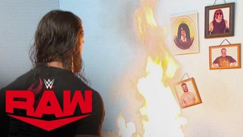 RAW1377期: 罗林斯入侵萤火虫乐园 怒烧布雷怀特老巢