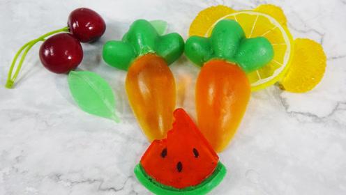 自制手工香皂:胡萝卜皂、西瓜皂,有好看又天然,赶快学起来!