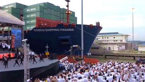 一条中国制造的货轮,到达美国港口便引来民众围观,网友:为何?