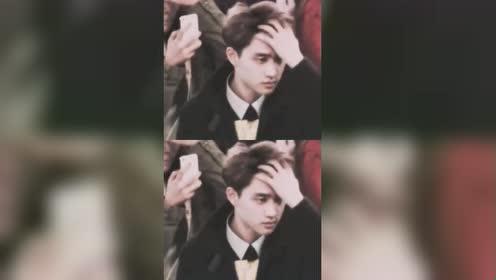 剃头前的的DO也是可以撩头发的!EXO真的是完颜团呐