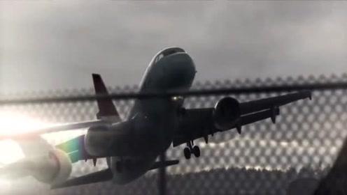 飞机遭遇风切变,旋转了360°!
