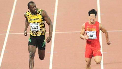 """飞人苏炳添起跑有多快?博尔特直接被""""甩""""在身后,观众:亚洲飞人!"""