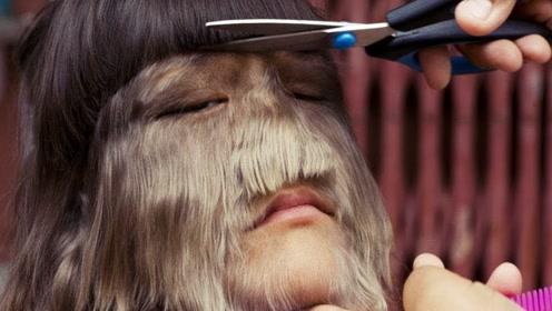 世界上体毛最多的女孩,刮毛后惊艳众人,小伙们排队求交往