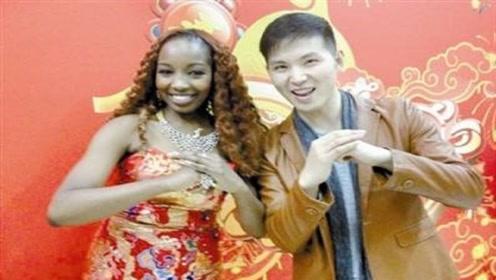 中国小伙娶了非洲妹子,混血宝宝出生后,没想到太尴尬了