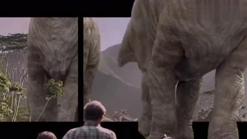 裸眼3D:约翰汉蒙竟用一堆恐龙化石繁衍出了绝种的恐龙!