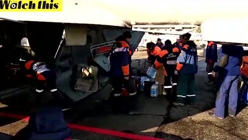 俄罗斯大坝坍塌浪高4米致十几人死亡近300人救援小组出动