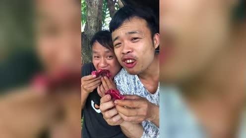 槟榔男神吃无花果!香香的那种!