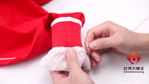 衣服袖子太长?裁缝店老板教我绝招,简单缝一缝,衣服立马合适穿