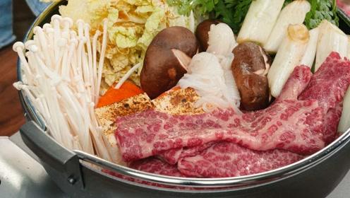 980元每公斤的雪花牛肉,做寿喜烧锅会更好吃吗?