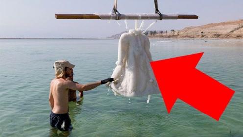 设计师将一条裙子放进死海,3年后捞上来,惊艳了所有人!