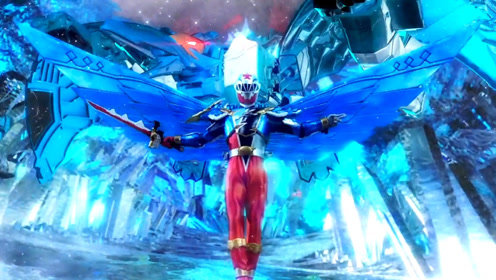 《骑士龙战队》龙装红涅槃重生,翼龙形态帅炸,实力碾压盖索古