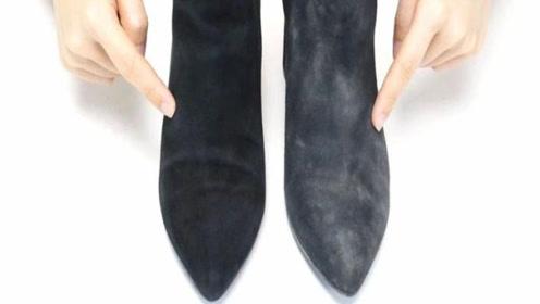 原来清理绒面鞋这么简单,不用水洗不要晒,每天都能穿新鞋,实用