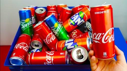 喝完的易拉罐千万别扔,向大神学习下,一个废弃的易拉罐能赚14000元