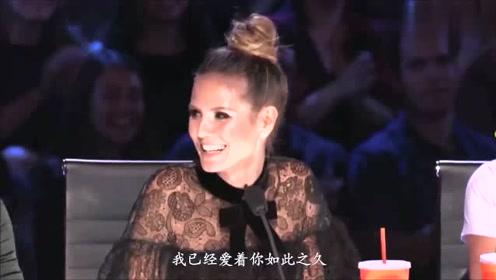 9岁中国小萝莉登上美国达人秀,一开嗓惊艳全场!直接晋级决赛!