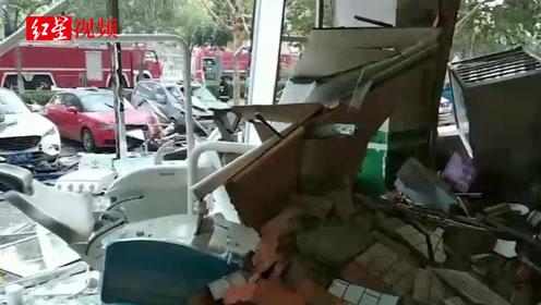 山东聊城一处餐厅发生煤气罐泄漏爆炸 6人受伤