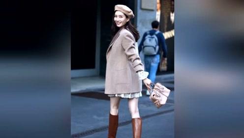 跟江疏影学秋冬大衣穿搭,演绎大衣层次感,做秋冬里的百变女郎