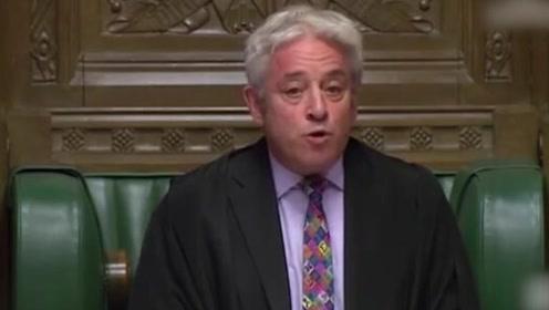 """""""脱欧""""继续拖!约翰逊再遭打击,下议院议长拒就新协议投票"""