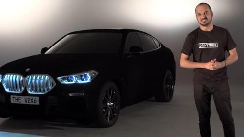 世界上最黑的汽车,车身能吸收99%的光线,晚上如同隐身一般