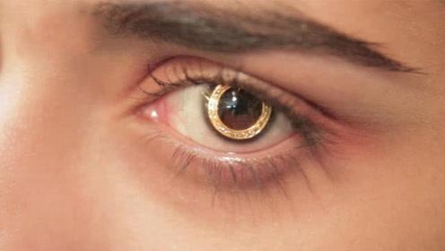 现实版黄金瞳:印度土豪炫富,黄金打造隐形眼镜,价值6万!