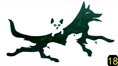 测一测:图上有5只小狗,全看出是高手