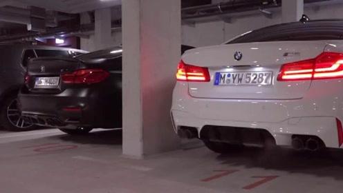 BMW,M5,冷启动有多吵?