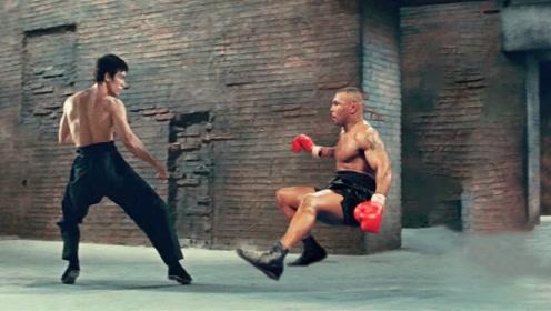上了拳击场,李小龙和泰森谁会赢?眼见为实!