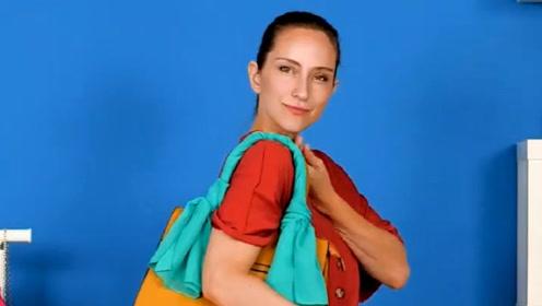创意时尚 关于手包的几个小妙招