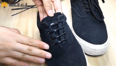 嫌系鞋带麻烦?教你一招鞋带永不掉!