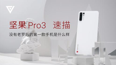 坚果 Pro3 速描——没有老罗后的第一款手机是什么样