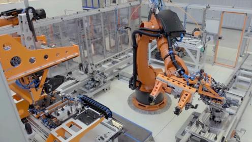 自动化加工厂!一个人影都看不到,真的是无人加工
