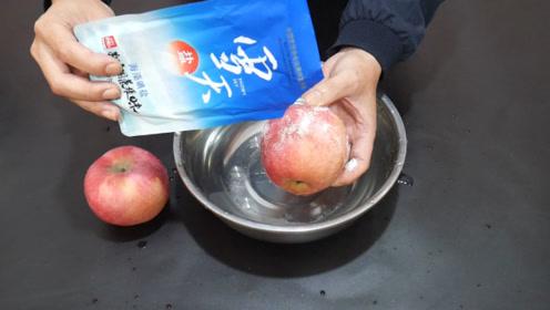苹果上撒上食盐,好多人不懂有啥用,学会记得告诉家里人