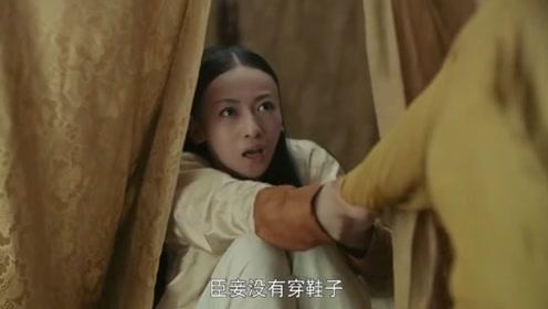延禧攻略:魏璎珞最不要脸一幕,乾隆难以招架不住,成全剧经典