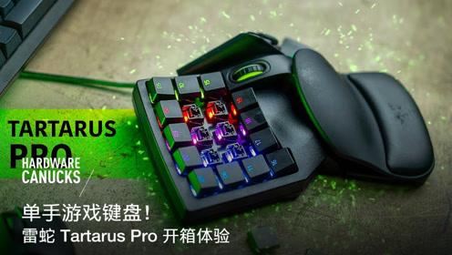 单手游戏键盘!雷蛇 Tartarus Pro 开箱体验