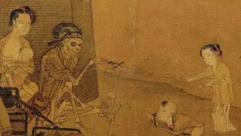 """故宫中收藏的一幅""""诡异画"""",至今无人能够破解,不知隐藏的真谛"""