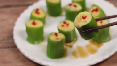 丝瓜好看又好吃的做法,简直太美味了,颜值高待客也有面子