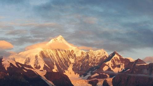 中国这座雪山被奉为雪山之神 海拔比珠峰低2000多米却无人登顶